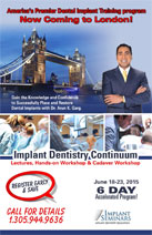 Implant Dentistry Continuum